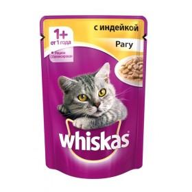Whiskas с индейкой рагу 1шт