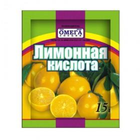 Омега Лимонная кислота 15гр