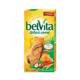 Belvita печенье с медом и орехами 300гр