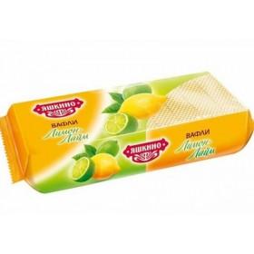 Яшкино вафли лимон\лайм 300гр