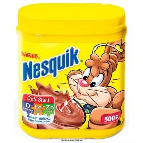 Nesquik шоколадный напиток 500гр