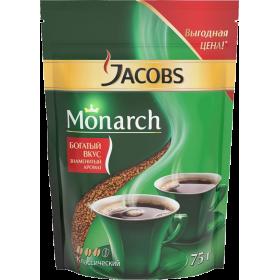 Jacobs Monarch кофе растворимый 75гр