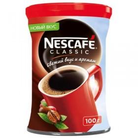 Nescafe Classic кофе растворимый 100гр