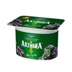 Активиа чернослив йогурт 150гр