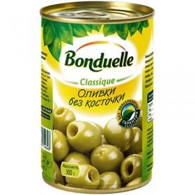 Bonduelle оливки зеленые без косточки 314мл