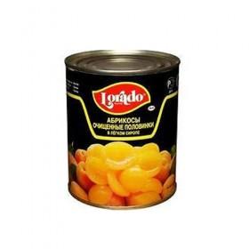 Lorado абрикос половинки  850мл