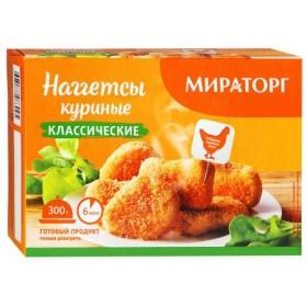 Мираторг Наггетсы куриные Классические 300г