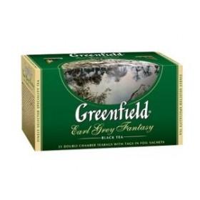Greenfield Earl Grey Fantasy чай черный 25 пакетиков
