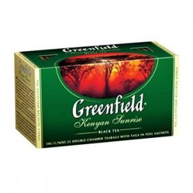 Greenfield  Kenyan Sunrise  чай черный 25 пакетиков