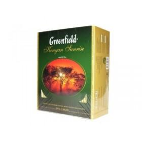 Greenfield Kenyan Sunrise чай черный 100 пакетиков