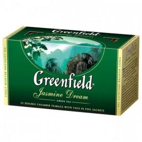 Greenfield Jasmine Dream чай зеленый 25 пакетиков