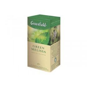 Greenfield Green Melissa чай зеленый 25 пакетиков