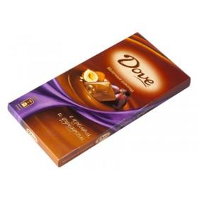 DOVE с изюмом и фундуком шоколад молочный 90гр