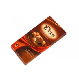 DOVE с цельным фундуком шоколад молочный 90гр
