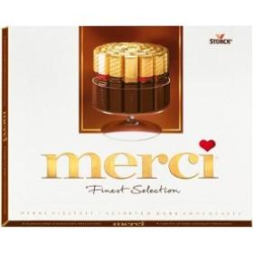 Merci ассорти из темного шоколада конфеты 250гр