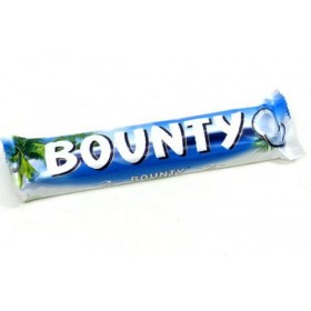 Bounty шоколадный батончик 50г