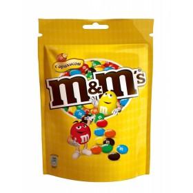 M&M  с арахисом и молочный шоколад драже 360гр