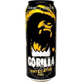 Gorilla энергетический напиток апельсин 0.5