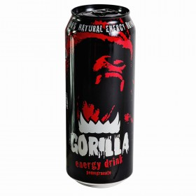 Gorilla энергетический напиток гранат-малина 0.5