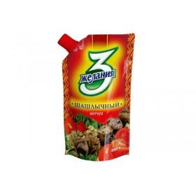 3 Желания Шашлычный кетчуп 250гр