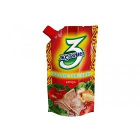 3 Желания Казахстанский кетчуп 450гр