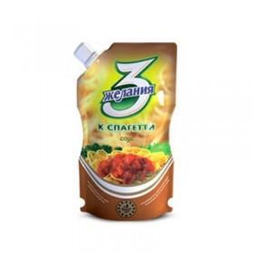 3 Желания соус к спагетти 250г