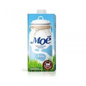 Моё 1.5% молоко, 0.95л