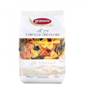 Granoro Farfalle Tricolore №279 макароны 500г