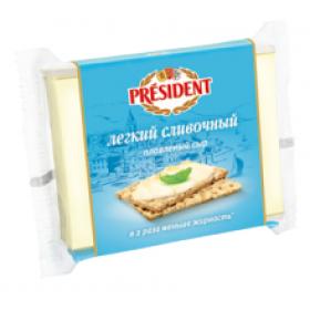 President сливочный легкий сыр плавленый 150г